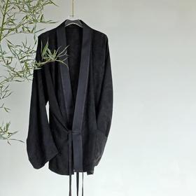 游园 · 浮雕提花直身宽袖衫