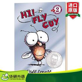 苍蝇小子 英文原版 Hi Fly Guy 儿童英语启蒙绘本 英文版进口原版英语图画书 Tedd Arnold