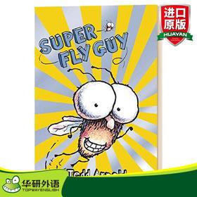 学乐苍蝇2级读物 英文原版 Super Fly Guy 英文版儿童英语启蒙绘本 小学生课外阅读故事书 进口原版书籍