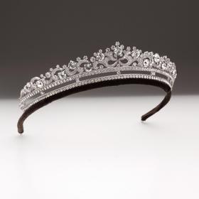 Maison Covet 水晶复古皇冠造型发箍