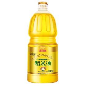 金龙鱼 稻米油 1.8L 谷维多桶装 食用油 适用于煎炒烹炸 烹饪-873551