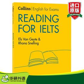 柯林斯雅思阅读新版 英文原版教材 Reading for IELTS 雅思英语考试指南 英文版 进口原版英语书籍