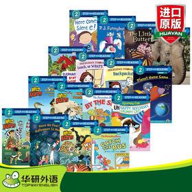 美国企鹅兰登经典分级读物兰登英语第二阶段16册 英文原版绘本 Step into Reading 2 英文版童书 进口原版英语书籍