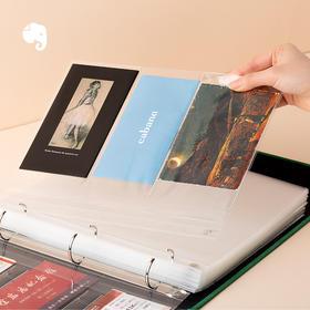印象收藏夹 收藏册作品集相册 收纳奖状 票据 名片