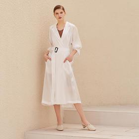 【为舒适而生】WAYNE FLEX 韦恩 2020新款 潮鞋 鹿皮内里 百搭简约 粗跟 休闲单鞋 2056