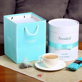 【半岛商城】Tessdoll台湾台仕朵手工网红奶茶袋装小包冲饮速溶奶茶粉饮品 0香精色素 0反式脂肪酸 非植脂末