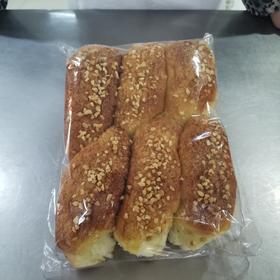 现烤 手撕花生碎面包6个