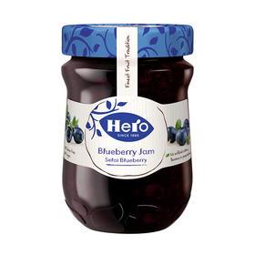 西班牙进口 英雄(HERO) 蓝莓果酱 烘焙伴侣 340g-866652