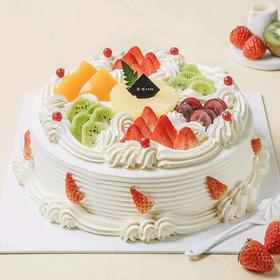 缤纷鲜果丨朵恬CAKE乳脂生日蛋糕丨新鲜现做丨奶香更浓郁
