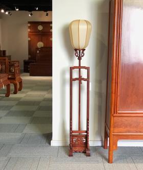 红桥红  家具严选  缅甸花梨(大果紫檀)  【宫灯】