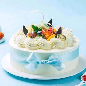 缤果倾心丨朵恬CAKE乳脂生日蛋糕丨新鲜现做丨奶香更浓郁
