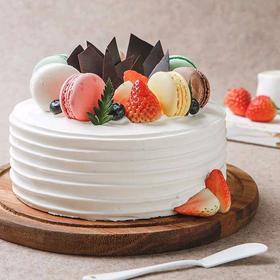 少女的祈祷丨朵恬CAKE乳脂生日蛋糕丨新鲜现做丨奶香更浓郁