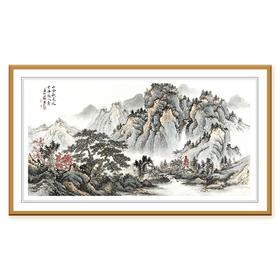 杨镇8平尺山水画