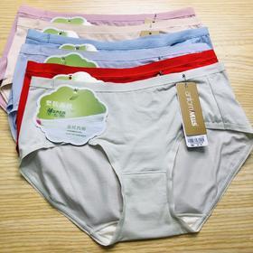 莫代尔棉女士小内裤:12239040