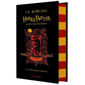 哈利波特与阿兹卡班的囚徒 格兰芬多精装版 英文原版Harry Potter