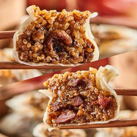 [糯米烧卖组合装]香菇鲜肉糯米烧麦*2袋+麻辣香肠糯米烧麦*2袋 420g/6只/袋 共4袋(24只)