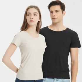 【一秒降温5°】斑马秘密螺纹冰丝T恤,无痕无褶皱,超舒适 男女款
