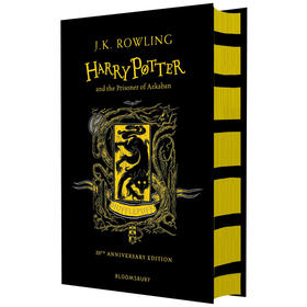哈利波特与阿兹卡班的囚徒 赫奇帕奇精装版 进口英文原版小说书