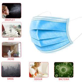 一次性口罩(中间熔喷布材质)防护口罩CE认证