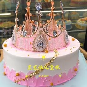 蕾丝皇冠(粉色)
