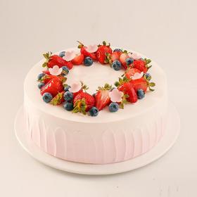 简约时光·草莓鲜果蛋糕