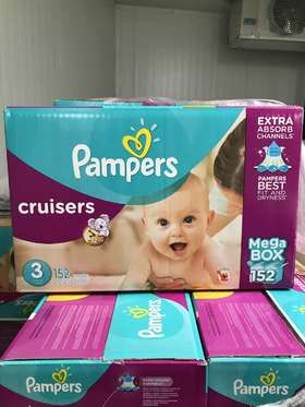 Pampers 帮宝适Cruisers纸尿裤 3段152片装