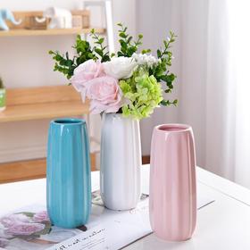 欧式折纸陶瓷花瓶