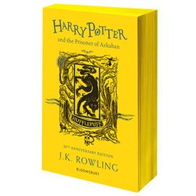 哈利波特与阿兹卡班的囚徒 赫奇帕奇平装版 英文原版Harry Potter