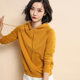 纤束马·针织连帽衫 | 11款色系,如婴儿般柔软,把整个春天穿在身上