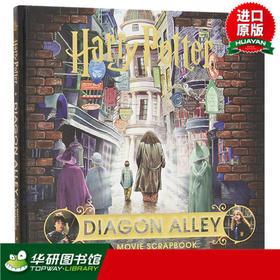 哈利波特与对角巷 电影剪贴簿 英文原版小说书籍 Harry Potter