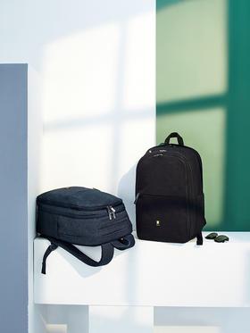 地平线8号商务休闲双肩包背包 15.6英寸大容量男士电脑包