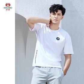 好波休闲内衣青年男士休闲短袖T恤HBX2028