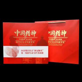 《中国精神 众志成城》邮币钞套装