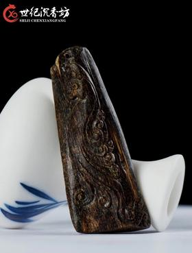 加里曼丹沉水沉香雕件    4.62克  17211-25