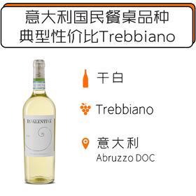 2018年瓦伦蒂娜特雷比亚诺经典干白葡萄酒 LA VALENTINA Trebbiano D'Abruzzo DOC Linea Classico 2018