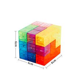 【为思礼】zui强大脑节目道具同款丨鲁班立方 爱因思维 益智节目同款玩具智慧磁力魔方