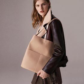 韩国进口面料 时尚Tote bag女单肩包 触感柔韧细腻 低调雅致 质感出众