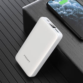 小白20000毫安移动电源 聚合物电芯 LED电量显示充电宝 苹果华为小米手机通用