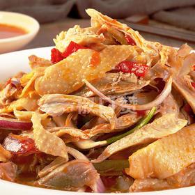 新疆有名的椒麻鸡  鲜香麻 精选新鲜食材秘制而成  整只装