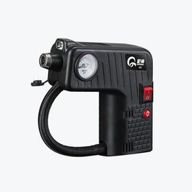 枪神轮胎车载充气 充气泵12V便携式轿车汽车轮胎打气泵