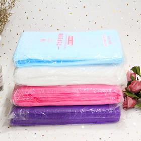 茵嘉妮 一次性美容床单 十条装 紫色蓝色粉色白色