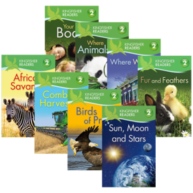 Kingfisher Readers Level 2 翠鸟分级读物系列第2级 8册 英文原版 英文版 儿童STEM课外教辅读物 小学百科科普 进口原版英语书籍