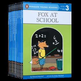 Penguin Young Readers L3 美国企鹅分级阅读第三阶段10本套装 英文原版 儿童英语读物书籍 附全彩插图 英文版进口原版书籍 企鹅分级阅读第3阶段 原版进口