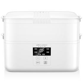 生活元素 电热饭盒 四陶瓷容器智能预约定时可插电保温加热 F19