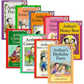 英文原版儿童书 Arthur 亚瑟系列9册 I Can Read 汪培珽第四4阶段