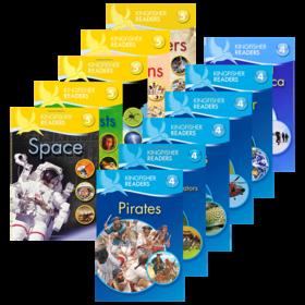 Kingfisher Readers Level 4 5 翠鸟分级读物系列第4 5级 英文原版 儿童STEM课外教辅读物 小学百科科普 英文版进口原版英语书
