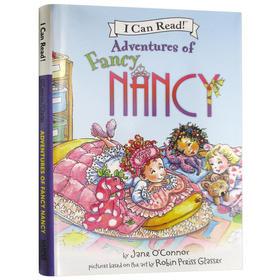 爱打扮的小南茜5个故事合集 英文原版儿童绘本 3-6岁儿童书故事书