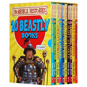 可怕的历史全套10册 英文原版Horrible Histories 糟糕的历史英剧