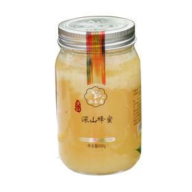 拉合曼深山蜂蜜 天山纯蜂蜜 600g瓶装