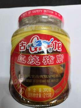 古龙红烧猪肉罐390g